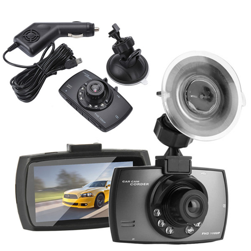 2018 New 2.4 LCD 1080P HD Wide Angle Lens CAR DVR IR Night Vision Vehicle Video Camera Recorder Dash NEW Dashcam Car Styling summer baby boy rompers 100