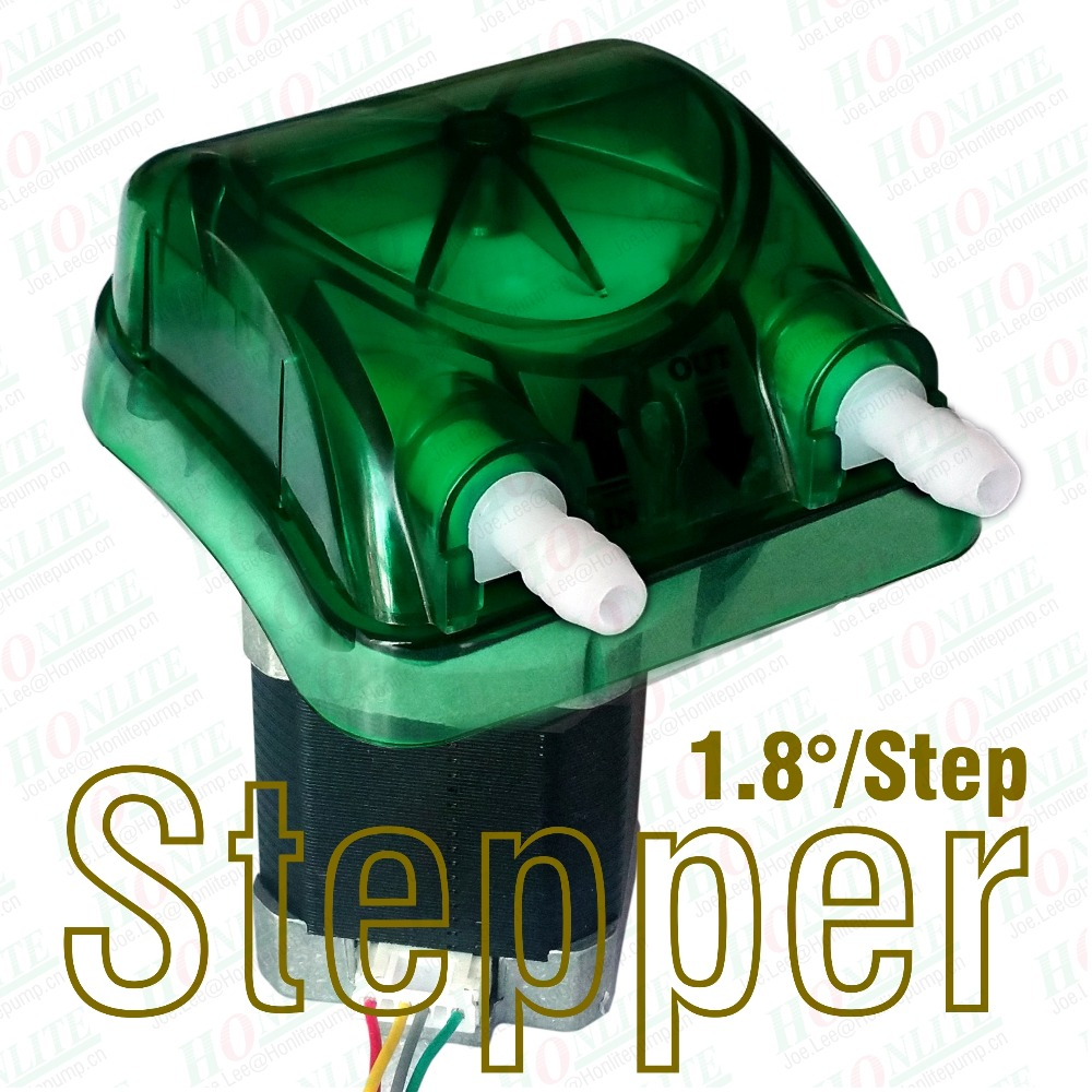 24V, 500ml/min peristaltic pump with 1.8degree/step stepper, exchangeable pump head in green and FDA approved Peristaltic tube 1pcs 12v anti corrosion vacuum pump mini 0 400 ml min self suction peristaltic pump