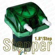 24 В, 500 мл/мин. перистальтический насос с 1.8 град. / микро-шаг шагового, Exchangeable насос в зеленый и FDA одобрило перистальтического трубки