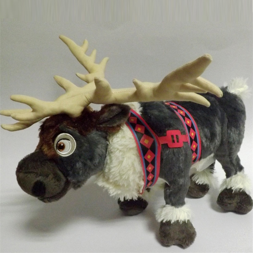 Big Size 38cm Cute Deer Cartoon Plush Toys Kids Reindeer Doll Milu Deer Stuffed Animals Movie Cartoon Christmas Gift Toy for Kid rc dron with camera 0 3mp hd wifi fpv drone height hold rtf remote control quadcopter selfie drone helicopter 606 6w vs syma x5c