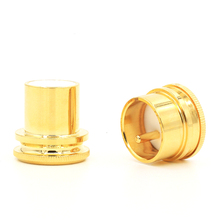 OI Final Noise Stopper Cobre Banhado A Ouro XLR Plug Caps XLR Proteja Cap