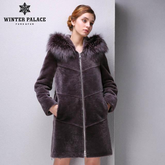 6d69941ab0c Online Shop Autumn sheep coat women mouton fur coat