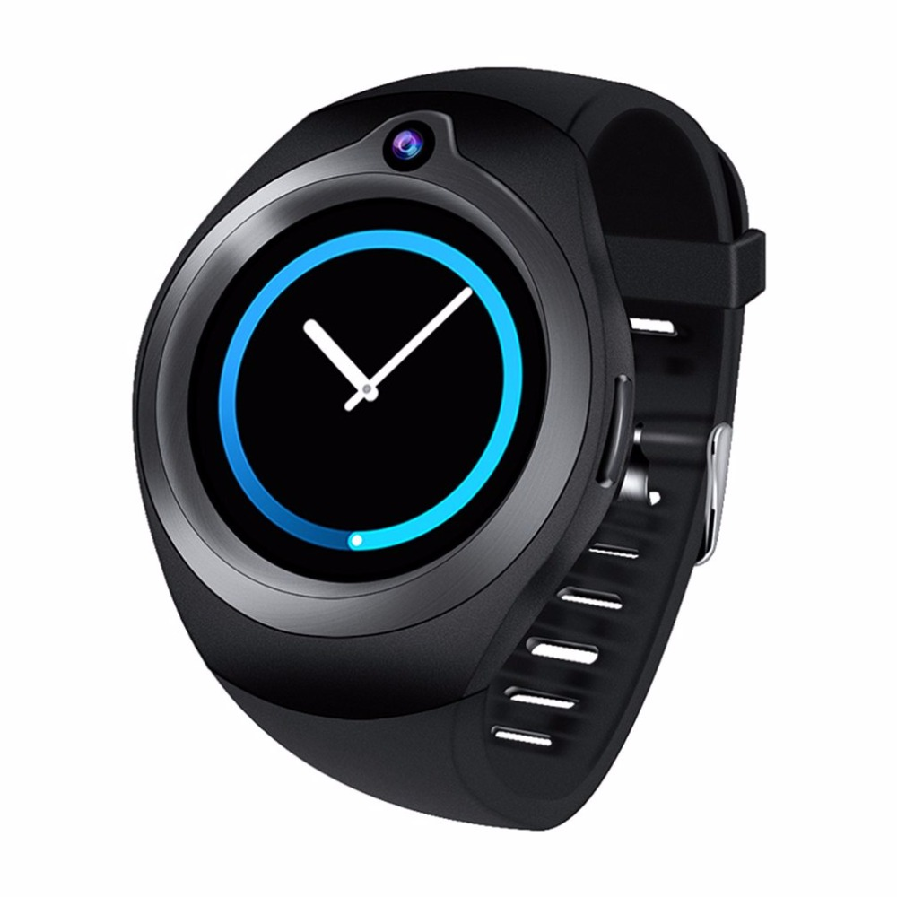 1+16G Bluetooth Smart Watch Heart Rate Monitore WiFi GPS support Camera SIM Card 3G Smartwatch for Android phone