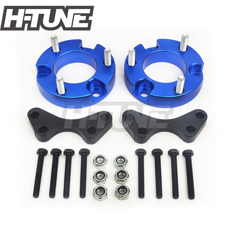 H-TUNE 4x4 pickup 32mm Front Coil Strut Shock Spacer Lift Kit for D-max 2012+ /Colorado 2012+ lift kit for toyota hilux revo