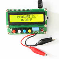FNIRSI Digital LCD Capacitance meter inductance table TESTER LC Meter Frequency 1pF-100mF 1uH-100H LC100-A + Test clip