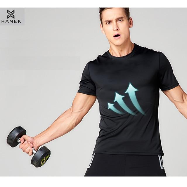 Camisetas Deporte Hombres Correr 2018 Hamek Hombre Jersey Nn0wvm8O