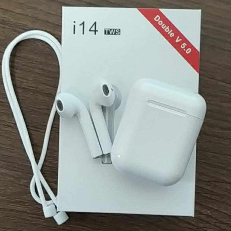649b42c0744 2019 new Original i14 air TWS 1:1 mini Wireless Bluetooth 3D stereo bass Ear