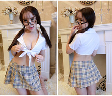 Fantasia Adult Women Sexy Two Pieces School Girls Students