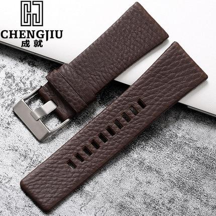 20 24 26 27 28 mm For Diesel Watch Strap Wrist Watch Belt For DZ7313/22/7257 Clock Bracelet Watchband Straps Tang Montre Homme