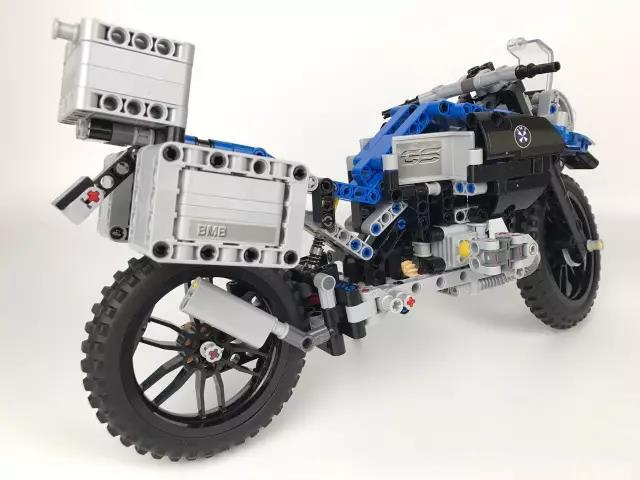 Technic Series The BAMW Off-road Motorcycles R1200 GS Building Blocks Bricks Educational Toys for Kid DIY Model Figurs 32 32 dots plastic bricks the island straight crossroad curve green meadow road plate building blocks parts bricks toys diy
