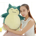 Hot Sell Pokemon Plush Toy Super Kawaii Pokemon Snorlax Plush Doll 20~55cm Big Size Snorlax Plush Pillow Toys for Children Gifts