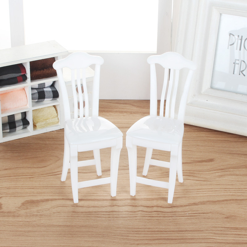 Mini Table Chair Set Furniture Toys Dolls Accessories Pretend Play for Dolls as Xmas Gifts for Kids Living bedroom