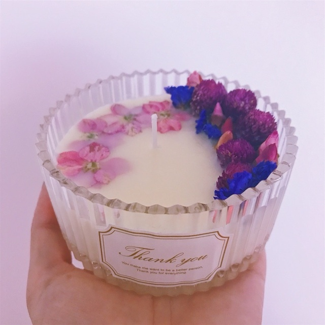 Candle Making Kit With Wax Wick Flower Make Gifts For Family And Friends Or Host