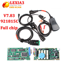 Lexia3 PP2000 Lexia-3 V7.83 with 921815C firmware Full chip Lexia3 PP2000 for Citroen for Peugeot Diagnostic Tool free shipping