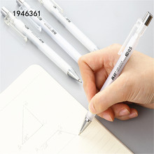 Pens Office-Supplies Drawing Mechanical-Pencil-0.5mm Sketch Transparent White School
