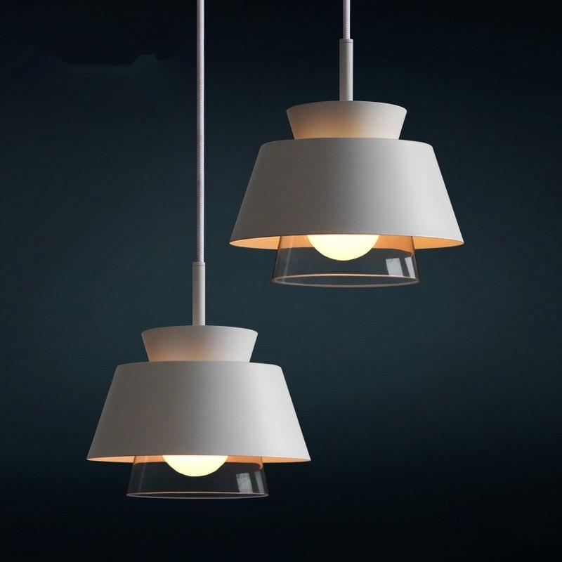 Frank Führte Anhänger Licht Loft Eisen Anhänger Lampe Nordic Hanglamp Küche Licht Suspension Leuchte Wohnzimmer Beleuchtung Avize E27