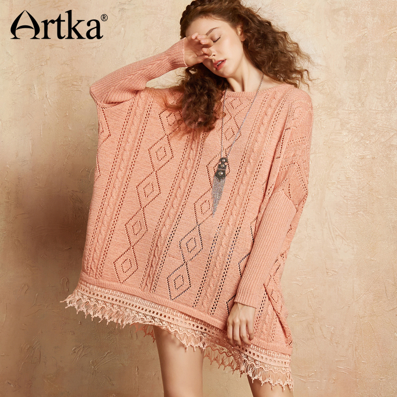 423ab671f1 Buy sweaters with lace hem and get free shipping on AliExpress.com