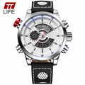 TTLIFE Quartz Digital Display Clock Male Military Large Dial Wrist Watches New Men Sports Watch Top Brand Luxury Fashion Watches