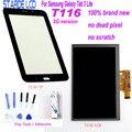 <font><b>Starde</b></font> ЖК-дисплей для Samsung Galaxy Tab 3 Lite T116 SM-T116 3g версия ЖК-дисплей сенсорный экран дигитайзер чувство с бесплатными инструментами