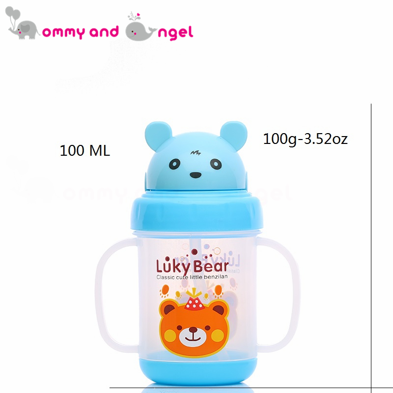MOMMY AND ANGEL Calssic Boy&Girl Closer to Nature Fiesta Bottle Sippy Cup for Kid Straw Feeding Bottle (5 Colour,280ml,MBE/0189)