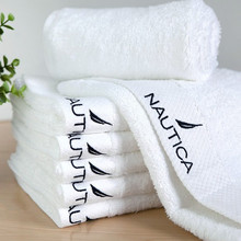 100% Cotton towel washouts waste-absorbing 150 grams size  35x75cm face towel 10 pieces small wholesale