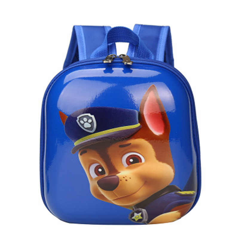 PAW Patrol Tas Sekolah Anak TK Ransel Anak Ransel Anjing Hard Shell Ransel Anak Hadiah untuk Anak Laki-laki Bayi Anak permainan