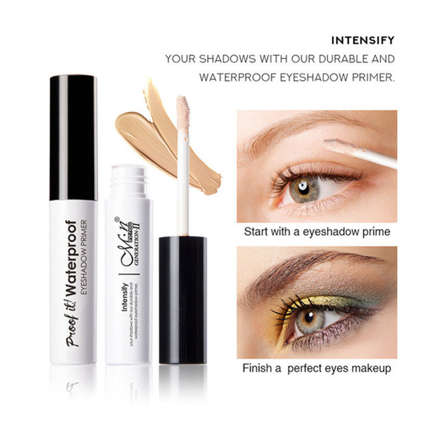 Professional Makeup Eyeshadow Primer Eye Base Moisturizing Liquid Primer Longlasting Waterproof Concealer Women Cosmetics Eyelid 1