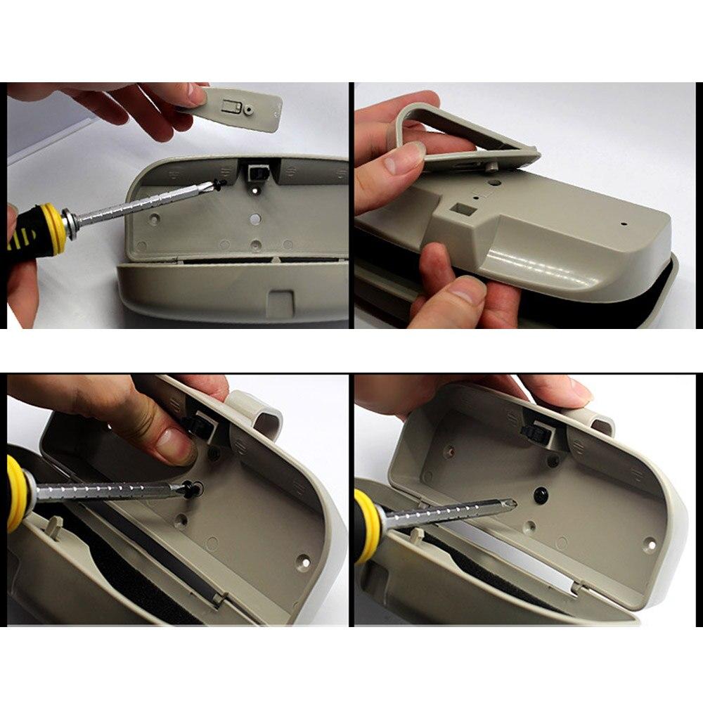 Choifoo Lunettes De Voiture Boîte De Rangement Case Pour Volvo S60 S90 XC90 S80L XC60 V60 V40/Renault Koleos FLUENCE Latitude auto accessoires