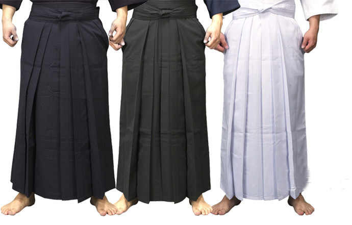 4colors UNISEX hakama Kendo uniform suits hapkido martial arts pants  black/dark blue/white/red