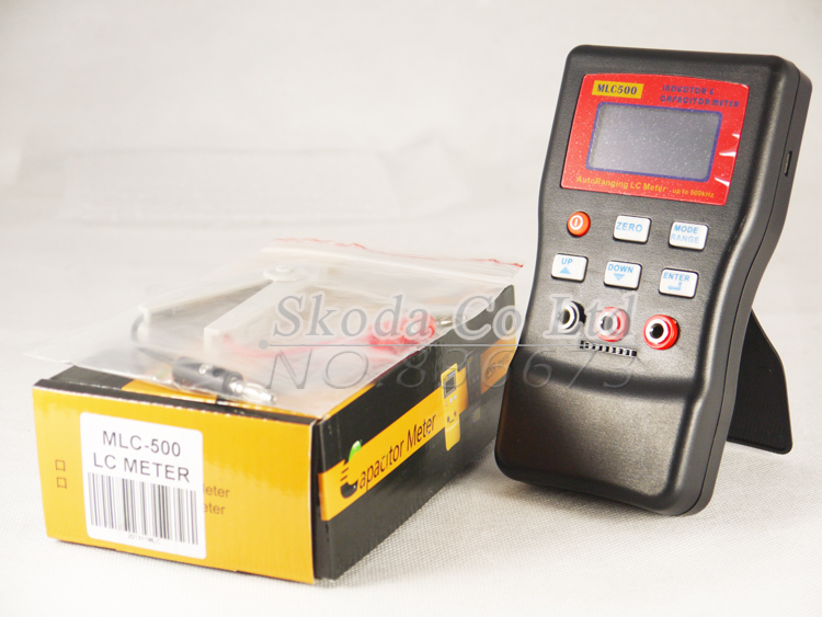 Free shipping MLC500 LR automatic range of inductance and capacitance tester, capacitance meter + SMD clip mehak khurana performance evaluation of range free localization algorithms in wsn