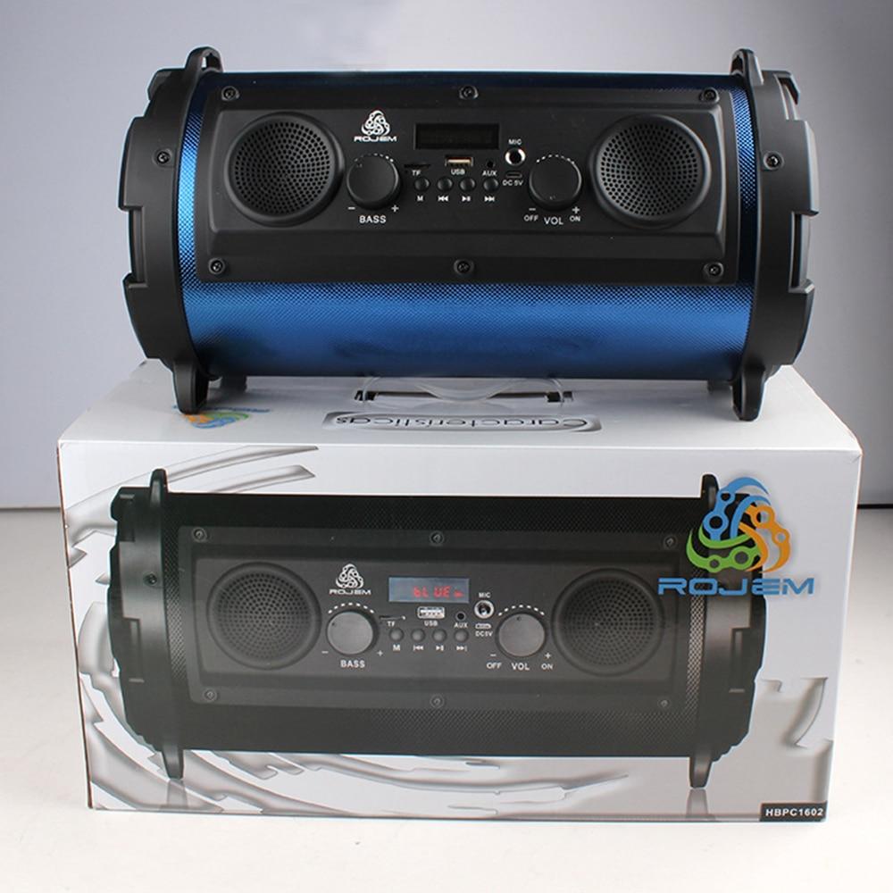 Portable 15W Big Power HiFi Wireless Bluetooth Speaker Woody ...