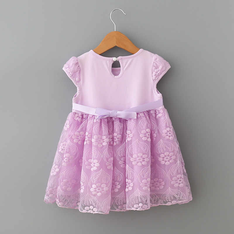 0ec526d51b7f ... infant clothes girl summer baby girls dress Kids white first birthday  one year lace Cute party ...