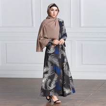Abaya Muslim Dress Abayas Dubai marokkaanse Fashion Islamic Clothing Long Sleeve Emboridery Muslim Blouse Abaya Kaftan DressZ411