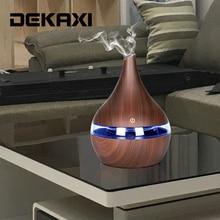 DEKAXI 300 мл USB Электрический аромат воздуха диффузор ультразвуковой увлажнитель воздуха Эфирное масло ароматерапия прохладный туман чайник для дома