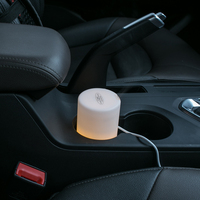 GXZ Ultrasonic USB Car Aroma Diffuser Essential Oil Night Lights Air Humidifier Timing Mist Maker Mini