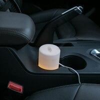 GXZ Ultrasonic USB Car Aroma Diffuser Essential Oil Night Lights Air Humidifier Timing Mist Maker Mini