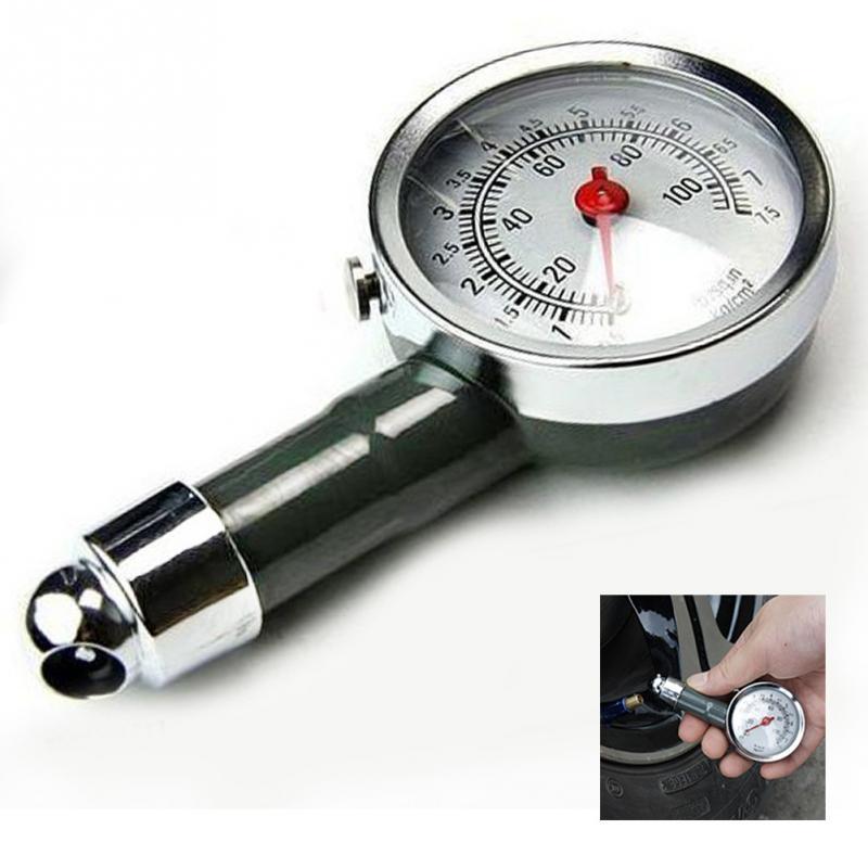 Meter Tire Pressure Gauge 0-100 PSI Auto Car Bike Motor Tyre Air Pressure Gauge Meter Vehicle Tester Monitoring System
