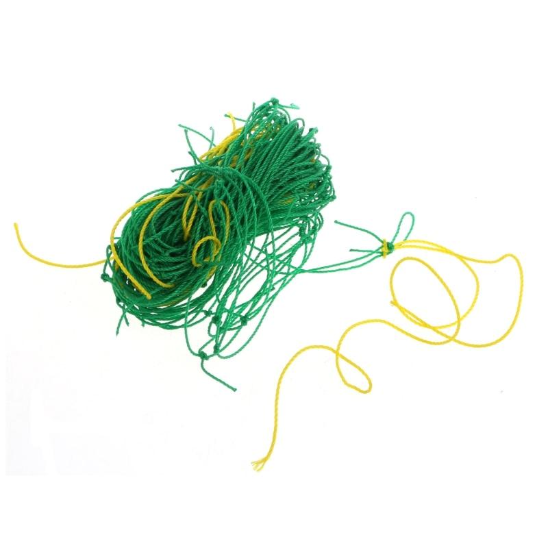 Garden Green Nylon Trellis Netting Support Climbing Bean Plant Nets Grow Fence Climbing Net M28 dropshipping