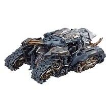 Figuras de acción de la serie Voyager para niños, modelo de tanque dañado de batalla, Robot de película, juguetes clásicos SS31