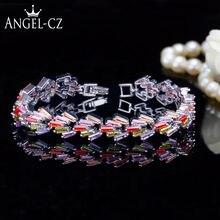 Angelcz романтичный серебристый цвет ювелирные изделия проложить