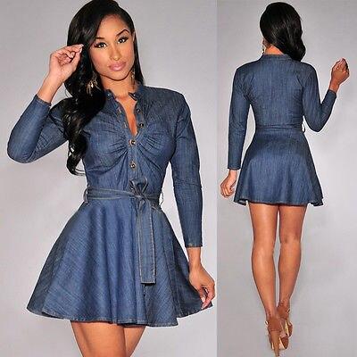 Aliexpress Buy Bowknot Belt Long Sleeve Dresses Fashion Women