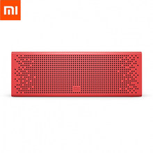 Xiaomi Aux-in 3.5mm Bluetooth Speaker AI Control Support Micro-SD Card Bluetooth Metal Texture Wearable Aluminum Alloy Speaker(China)