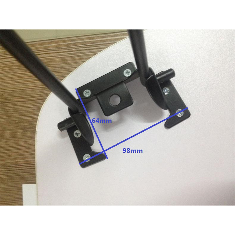 Image 2 - 4Pcs/Lot Folding Table Legs Hairpin Leg Computer Coffee Table Furniture RV Table Leg With Screws-in Furniture Legs from Furniture