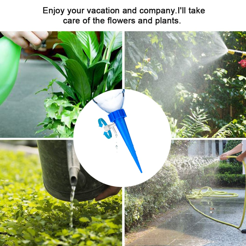 HTB1.Z5nLFzqK1RjSZSgq6ApAVXaT 12Pcs Plant Self Watering Adjustable Stakes System Vacation Plant Waterer Self Automatic Watering Spikes Irrigation System