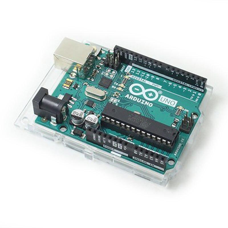 1 pièces UNO R3 MEGA328P ATMEGA16U2 pour Arduino UNO R3 Officiel véritable UNO R3 Mega328P ATMEGA16U2 Développement Conseil # Hbm0454