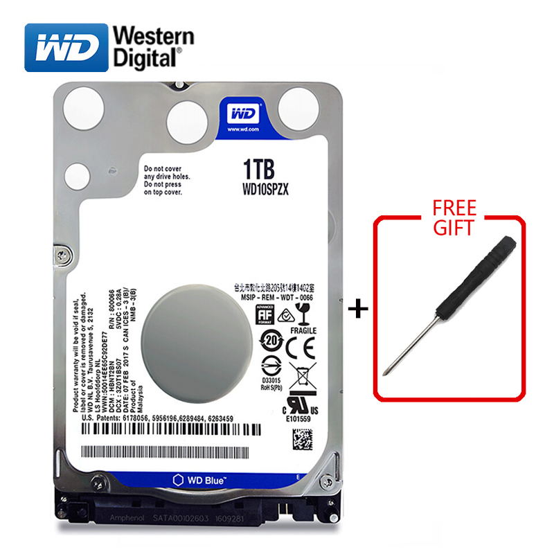 WD Blue Brand 1000Gb 2 5 SATA3 Internal Hard Drive 1TB Hard Drive HD Hard Drive