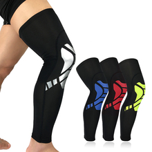 1PCS Kneepad Elastic Running Sports Football Basketball Knee Compression Sleeves Knee Brace Soccer Volleyball Cycling Legwarmer