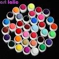 36 Цветов УФ-Гель Builder Набор Чистый Цвет Декор Для Nail Art Советы Extension Маникюр DIY Инструменты Украшения