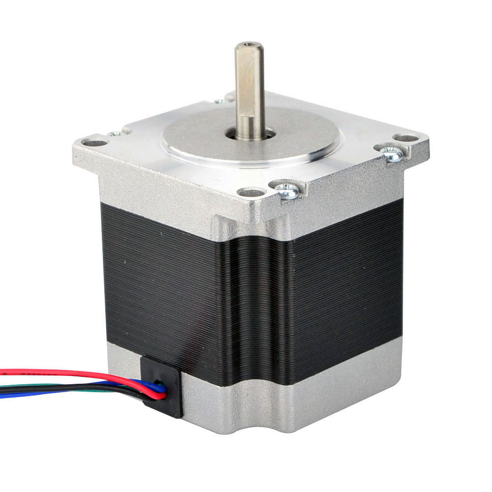 Nema 23 Stepper Motor Bipolar 1.8deg 1.16Nm (164.3oz.in) 1.5A 57x56mm 4 Wires 3D Printer CNC Robot антенна hite pro hybrid box