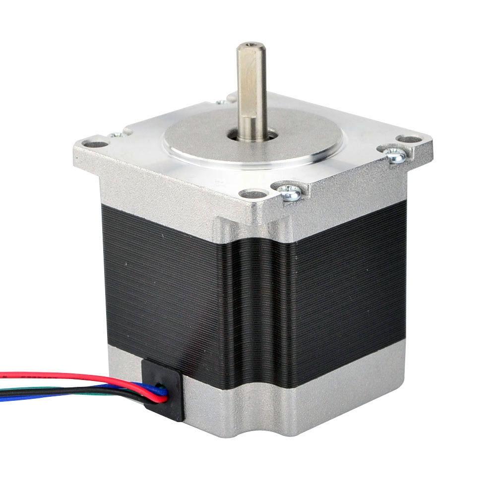 Nema 23 Stepper Motor Bipolar 1.8deg 1.16Nm (164.3oz.in) 1.5A 57x56mm 4 Wires 3D Printer CNC Robot переплетчик gbc combbind c366 a3 перфорирует 30 листов сшивает 450 листов пластиковые пружины 2101434
